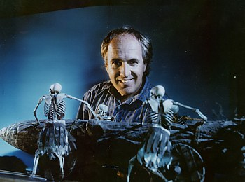 Bill with the skeletons