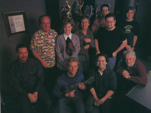 The Flash Film Works crew in 1998